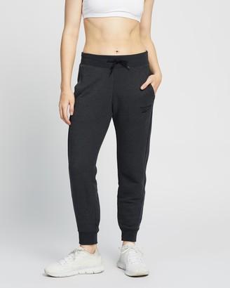 Reebok Performance - Women's Black Sweatpants - TE Textured Pants - Size XXS at The Iconic