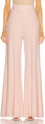 Alexandre Vauthier Wide Leg Pant in Shell | FWRD