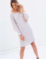 Wallis Open Float Sleeve Shift Dress