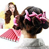 Hairstyle Foam Curler Tool Spiral Hair Bendable Foam Curler Rollers 10pieces/pack -Twist Curls Flex Rods(10pieces)