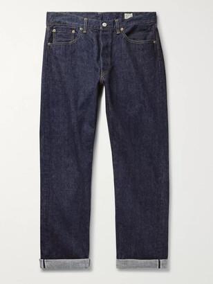 orSlow 105 Selvedge Denim Jeans - Men - Blue