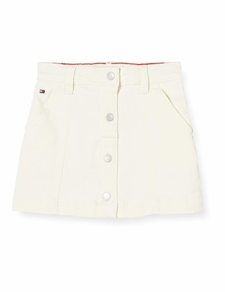 Tommy Hilfiger Girl's Button Skirt NADC