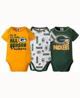Gerber Babies' Green Bay Packers 3-pack Bodysuit