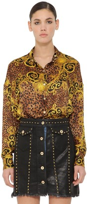 Versace Archive Print Techno Shirt