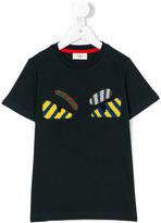 Fendi faces T-shirt - kids - Cotton - 3 yrs