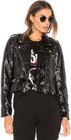 Blank NYC BLANKNYC Steel Panther Jacket in Black. - size L (also in M,S,XS)