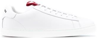 DSQUARED2 Logo-Tab Low-Top Sneakers