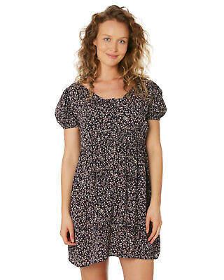 Helena New Saint Women's Shangr-La Mini Dress Midnight Floral