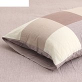 SHGFDFSF Cotton pdded pillow/Simple stripe pillowcse
