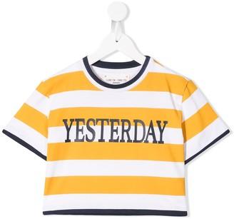 Alberta Ferretti Kids striped T-shirt