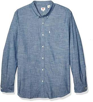 Levi's Men's Size Big & Tall-Classic One Pocket Shirt-Tall