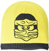 Lego Snow Beanie with Large Ninjago Man (Little Kids/Big Kids) (Yellow) Caps
