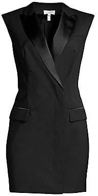 Escada Sport Women's Stretch Wool Tuxedo Mini Dress