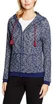 Beedees Women's Cosy Label W16 Hoody Pyjama Top - Multicoloured -