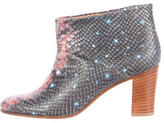 Maison Margiela Embossed Galaxy Ankle Boots