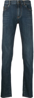 Canali Faded Jeans
