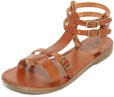 H By Hudson Maquinna Leather Sandals