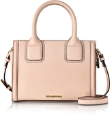 Karl Lagerfeld Light Pink Saffiano Leather K/Klassic Mini Tote