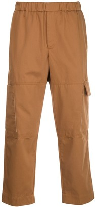 Kenzo Tapered Cropped Cargo Trousers