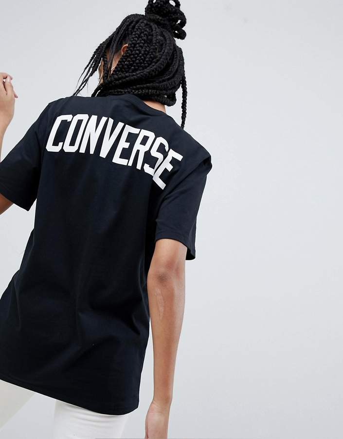 Converse (コンバース) - Converse Soccer T-Shirt In Black