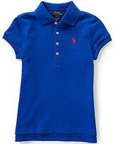 Ralph Lauren Big Girls 7-16 Short-Sleeve Mesh Polo Shirt