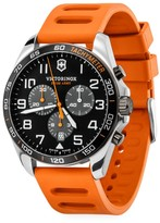 Victorinox Field Force Sport Chronograph Stainless Steel & Rubber Strap Watch