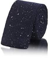 Alexander Olch Men's Donegal-Effect Knit Wool Necktie