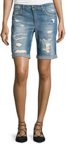 Joe's Jeans Distressed Bermuda Shorts, Dawn