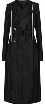 Rick Owens Shell Hooded Trench Coat