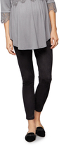 A Pea in the Pod Under Belly Faux Suede Maternity Leggings