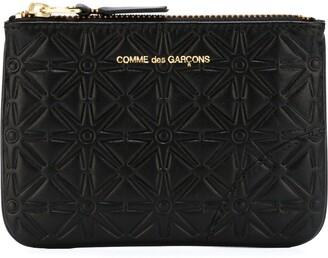 Comme des Garcons 'Classic Embossed A' purse
