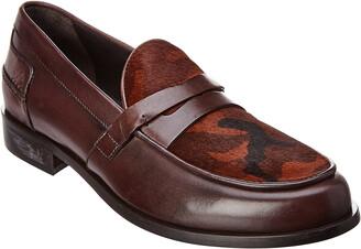 Donald J Pliner Leather Loafer