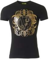 Versace Jeans Foil Centre Logo Crew Neck T-shirt