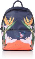 Ted Baker Tropical oasis print sports backpack