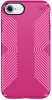 Speck Presidio Grip iPhone 7 Case - Lipstick Pink/Shocking Pink