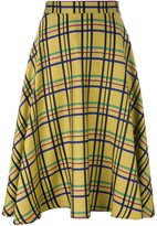 Ultràchic - checked skirt - women - Acrylic/Polyester/Wool - 40