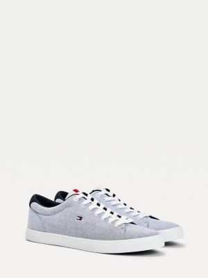 Tommy Hilfiger Essential Chambray Trainers