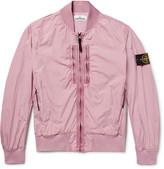 Stone Island Garment-Dyed Shell Bomber Jacket