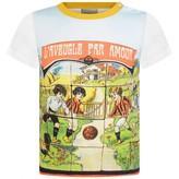 Gucci GUCCIBaby Boys Vintage Football Print Top