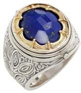 Konstantino Men's 'Orpheus' Petal Set Semiprecious Stone Ring