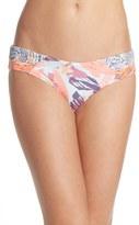 Maaji Women's 'Surfer Brushes' Reversible Bikini Bottoms