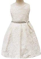 Baby Princess Dress,Hemlock Baby Girl's Wedding Lace Tutu Dress (24M, White)