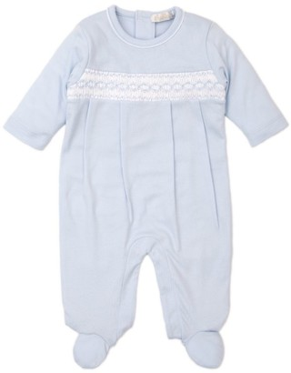 Kissy Kissy Smocked-Detail All-in-One