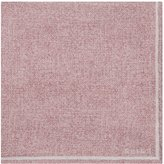 Reiss Craven - Silk Pocket Square in Pink, Mens