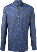Lanvin floral print shirt - men - Cotton - 38