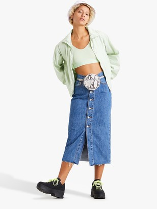 Levi's Button Front Denim Midi Skirt, Middlebrook