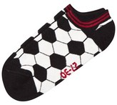 Melton Black Sport Sneaker Socks