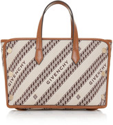 Givenchy Bond Mini Logo-Jacquard Canvas Shopper Tote