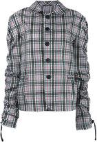 Maison Margiela checked jacket - women - Cotton/Polyamide - 42