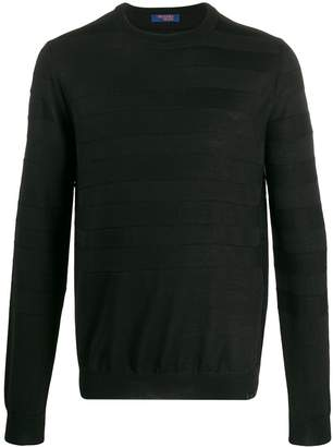 Trussardi Jeans striped relaxed-fit jumper